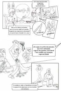 Viñetas de humor marrón